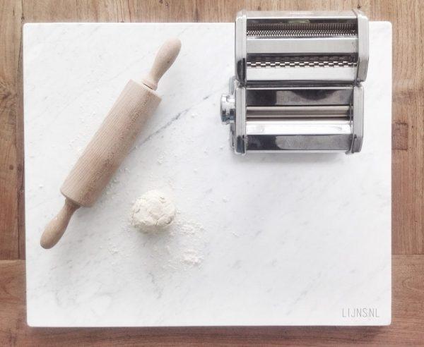 LIJNS marmer patisserie werkblad deegplank marmeren plaat plank