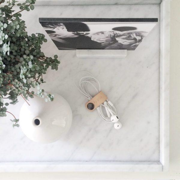 LIJNS marmeren kubus 20cm Blanco Andaluz