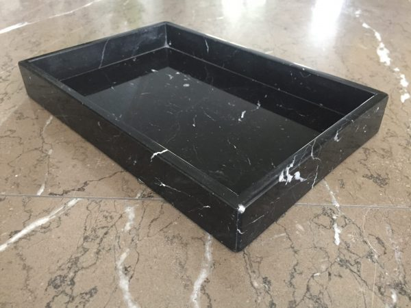 Marmeren tray 10mm Negro Marquina