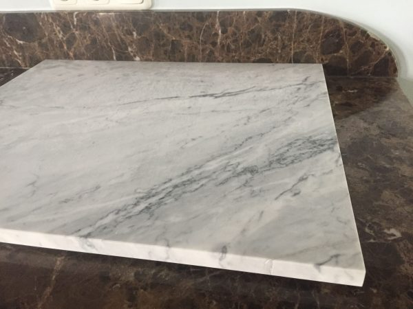 Patisserieblad marmer Carrara Estatuarietto